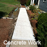 Concrete Patios & Walkway Installation