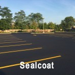Driveway Sealcoating Installation